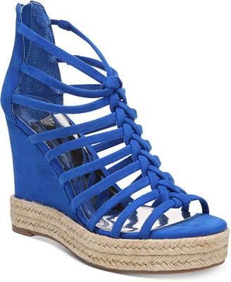 Carlos by Carlos Santana Camilla Platform Wedge Sandals Women's Shoes