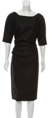 Lela Rose Side Ruched Dress w/ Tags Black Side Ruched Dress w/ Tags