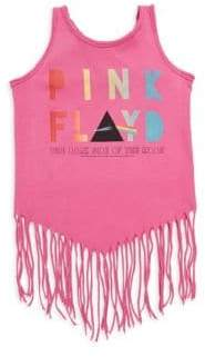 Rowdy Sprout Baby's, Toddler's, Little Girl's & Girl's Pink Floyd Fringe Tank