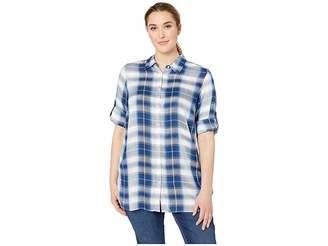 b607c53cc6c Lauren Ralph Lauren Plus Size Plaid Twill Shirt