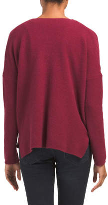 Cashmere Crossover Sweater