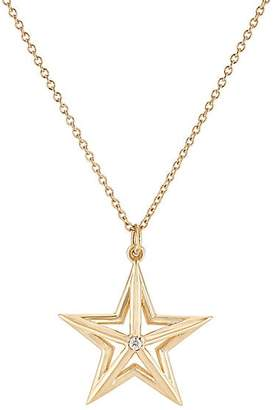 Dean Harris Men's Small Star Pendant Necklace - Gold
