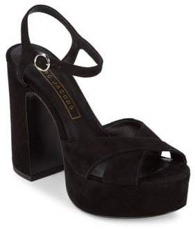 Marc Jacobs Lust Leather Platform Sandals