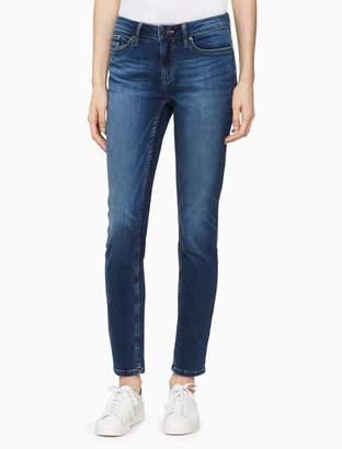 Calvin Klein skinny crystal blue ankle jeans