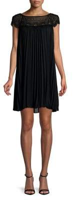 Xscape Evenings Embellished Pleated Dress