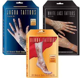 Lakaye Studio All Natural Temporary Tattoos Set 4