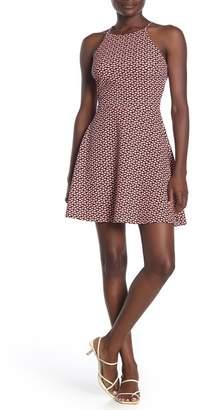 Love...Ady Geometric Skater Dress