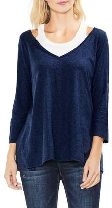 Vince Camuto Layered Top