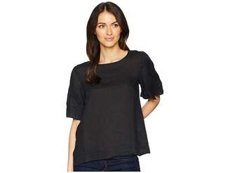 Allen Allen Short Sleeve Puff Tee Women's Short Sleeve Pullover