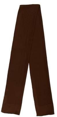 Gucci Vintage Silk GG Jacquard Scarf