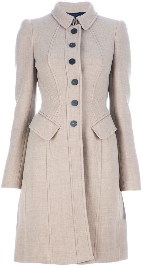 Burberry Fitted coat