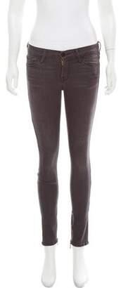 Frame Le Skinny De Jeanne Mid-Rise Jeans