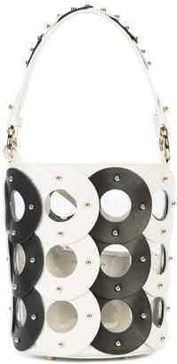 Sara Battaglia Zoe Circle Bucket bag