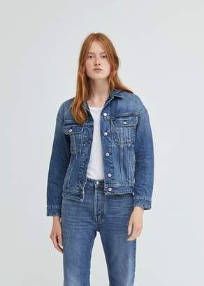 Acne Studios Lamp Mid Blue Denim Jacket