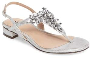 PARADOX LONDON PINK Flame Crystal Embellished Sandal