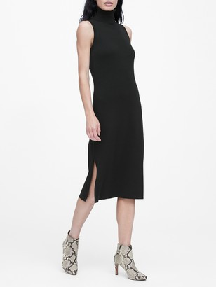 Banana Republic Turtleneck Column Dress
