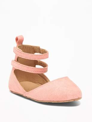 Old Navy Sueded Pointy-Toe Ballet Flats for Baby