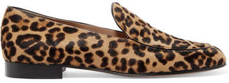 Gianvito Rossi Leopard-print Calf Hair Loafers - Leopard print