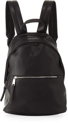 French Connection Jace Faux-Leather Backpack, Black