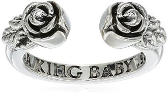 "King Baby ""Heartbreaker"" Open Roses Ring, Size 6 $135 thestylecure.com"
