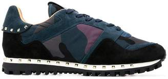 Valentino Soul Rockrunner camouflage sneakers