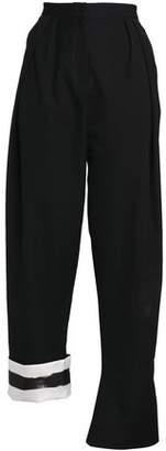 CHRISTOPHER ESBER Wool-Twill Bootcut Pants