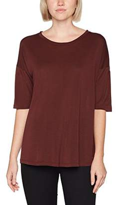 Filippa K Women's Elbow Sleeve Swing Top Regular Fit Round Collar Long Sleeve T - Shirt,(Manufacturer Size: Medium)