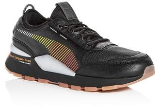 Puma x Roland Men's RS-0 Leather Lace Up Sneakers