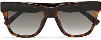 Le Specs Escapade D-frame Tortoiseshell Acetate Sunglasses