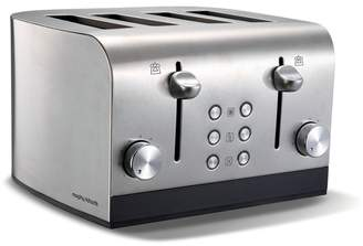 Morphy Richards Stainless Steel 'Equip' 4 Slice Toaster 241001