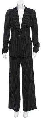 Gucci Mid-Rise Wool Pantsuit $245 thestylecure.com