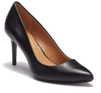 Calvin Klein Kamara Nappa Smooth Leather Pump