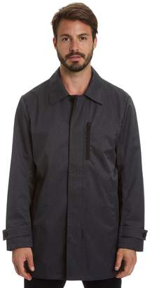 Haggar Big & Tall Three-Quarter Length City Rain Jacket