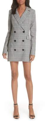 Milly Cotton Suiting Blazer Dress