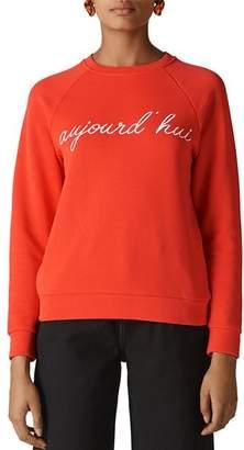 Whistles Aujourd'hui Graphic Sweatshirt