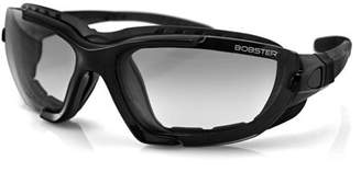 Bobster Renegade Convertible Sunglasses, Black Frame, Photochromic Lenses