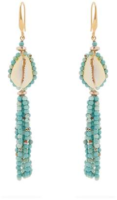 Isabel Marant Seashell tassel-earrings