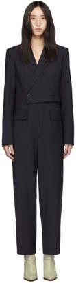 Tibi Navy Blazer Jumpsuit