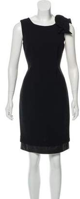 Anna Molinari Sleeveless Knee-Length Wool Dress w/ Tags