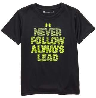 Under Armour Never Follow Always Lead HeatGear(R) T-Shirt
