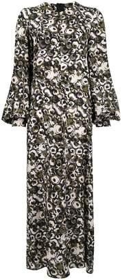 Marni printed maxi dress