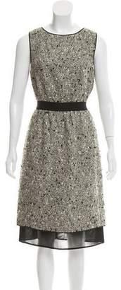 Giambattista Valli Metallic Midi Dress w/ Tags
