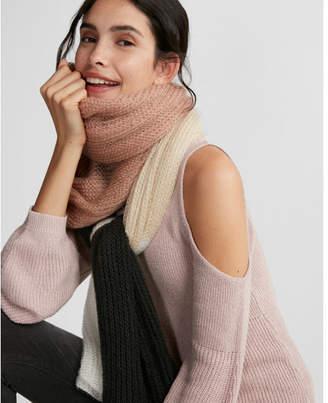 Express color block scarf