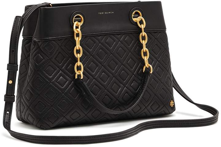 Tory Burch FLEMING SMALL TOTE - BLACK - STYLE