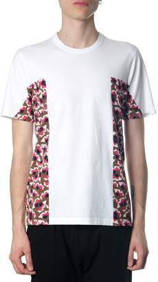 Marni White & Red Color Block T-shirt