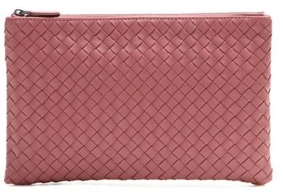 Bottega VenetaBottega Veneta Intrecciato leather clutch