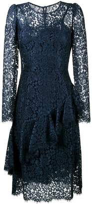 Dolce & Gabbana lace ruffle mid dress