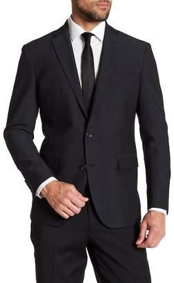 Kenneth Cole New York Fancy Two Button Notch Lapel Sport Coat