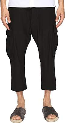 Vivienne Westwood Men's Wool Viscose Seersucker Samurai Trouser