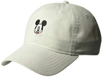 Disney Men's Mickey Mouse Embroidered Baseball Cap